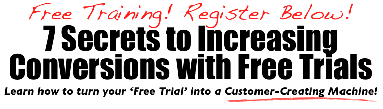 free saas conversion training6 7 Secrets to Increasing Conversions