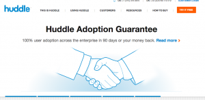 saas customer retention example huddle 300x147 SaaS Churn Rate: Go Negative with Expansion Revenue