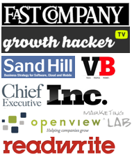 as seen in fastcompany sandhill venturebeat inc as seen in Growth Hacker TV OpenView Labs fastcompany sandhill venturebeat inc