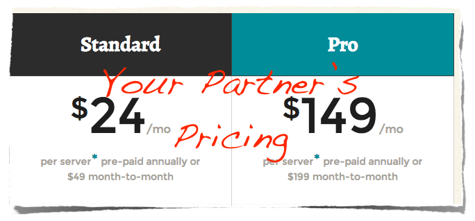 Your Partner's SaaS Pricing Model