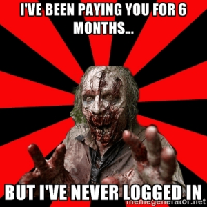 SaaS Customer Success - Zombie Customer
