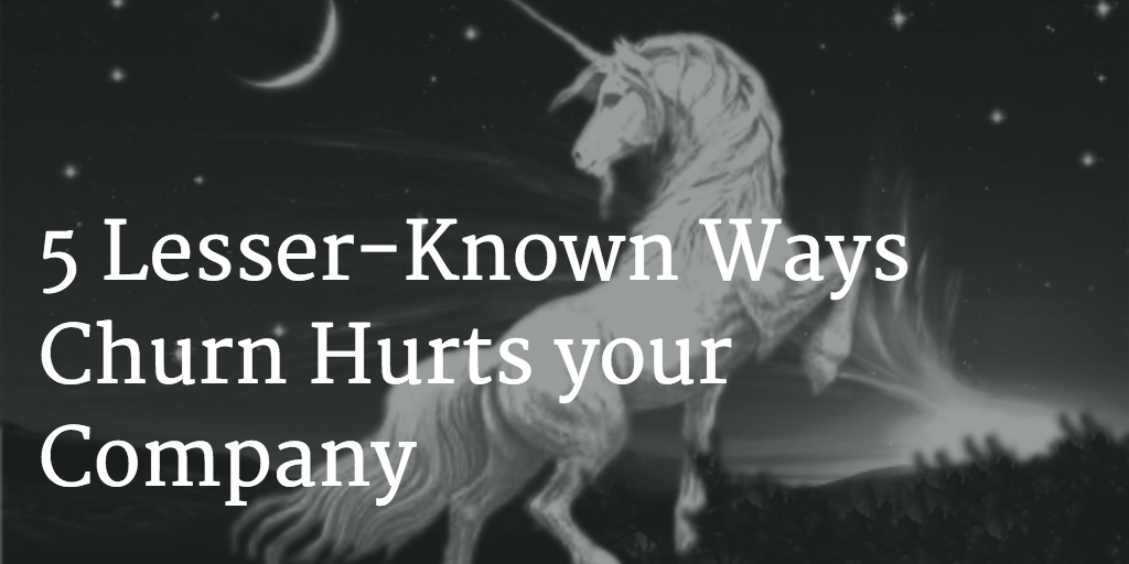 5 Lesser-Known Ways Churn Hurts your Company