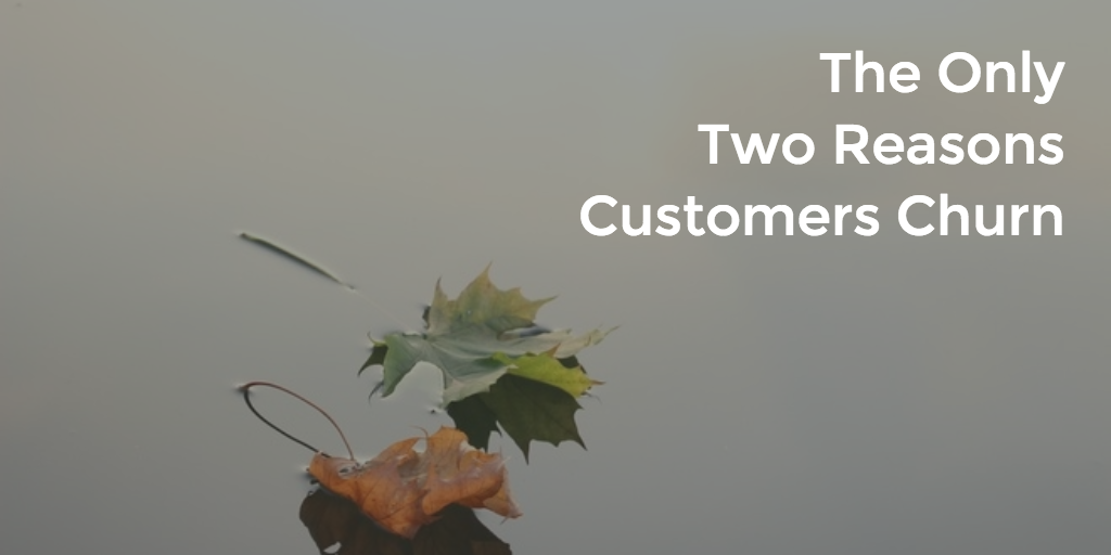 The Only Two Reasons Customers Churn